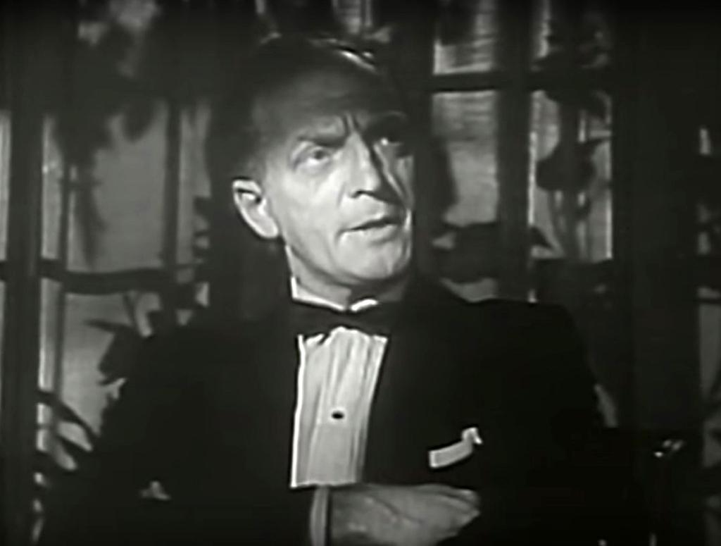 "Everett Sloane w roli pozbawionego skrupułów manipulanta Ramseya, ""Patterns"", 1955"