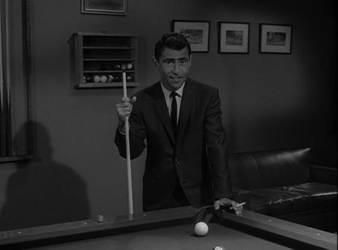 """Kolejnym odcinekiem do scenariusza George Claytona Johnsona będzie """"A Game of Pool"""", piąty epizod trzeciego sezonu, do którego obejrzenia Rod Serling zaprasza Was już dzisiaj."""