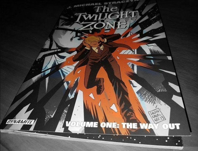 "J. Michael Straczynski ""The Twilight Zone"" Volume One - ""The Way Out"""