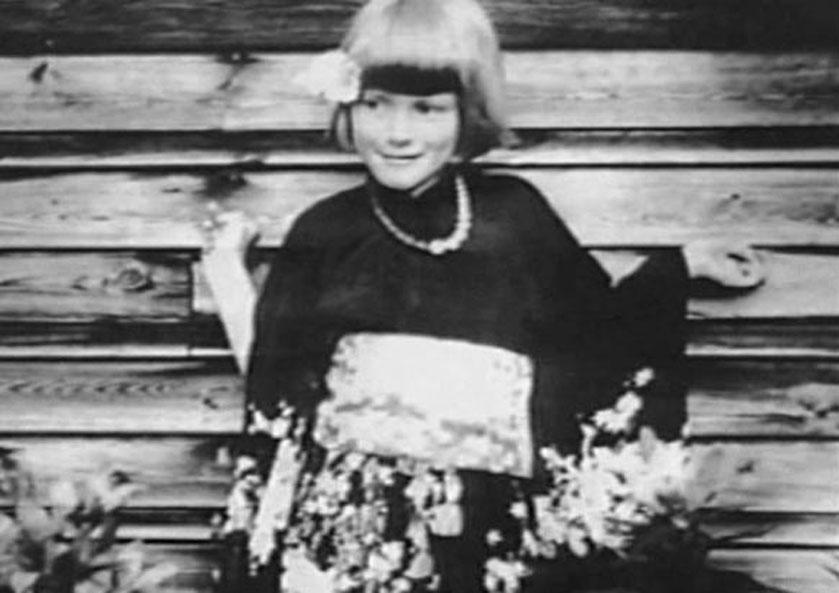 Inger Stensland, lat osiem.