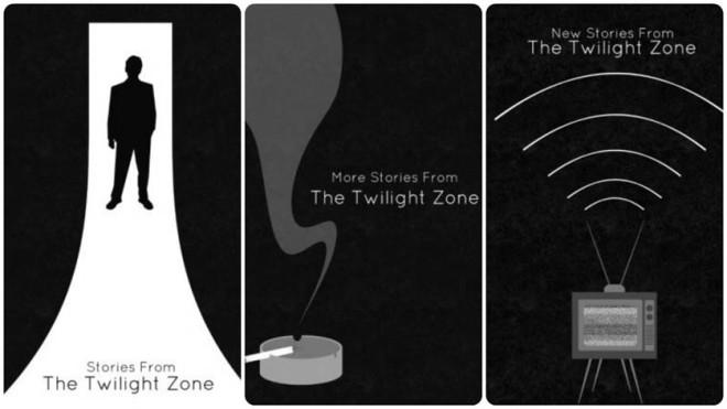 """Antologie zawierające literackie adaptacje historii z pierwszego, drugiego i trzeciego sezonu """"The Twilight Zone"""""""