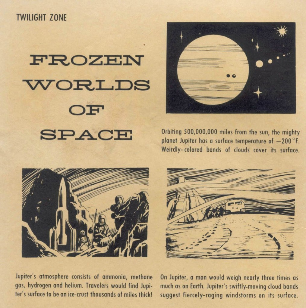 """Frozen Worlds of Space"""