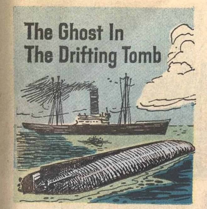 The Ghost in the Drifting Tomb""