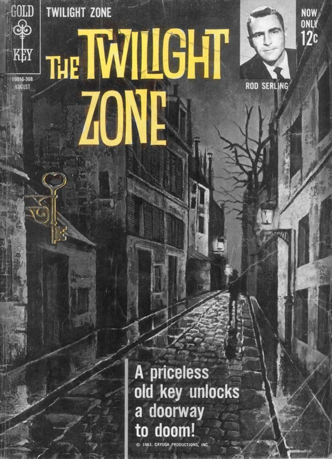 KOMIKS: THE TWILIGHT ZONE, ZESZYT 4 (08/1963)