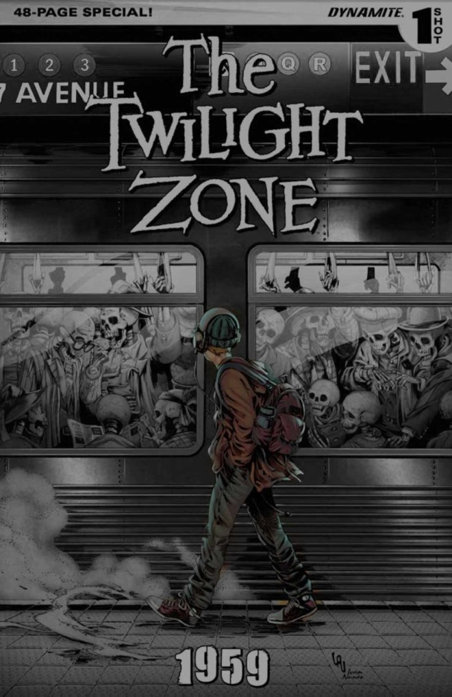 Komiks: Twilight Zone #1959 (Dynamite, 2016)