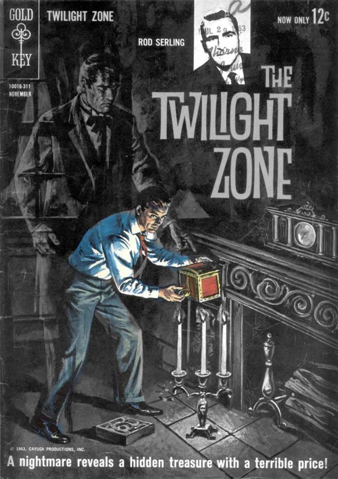 KOMIKS: THE TWILIGHT ZONE, ZESZYT 5 (11/1963)
