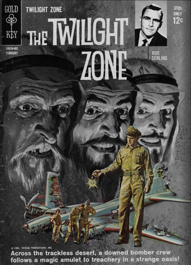 Komiks: The Twilight Zone, Zeszyt 6 (02/1964)
